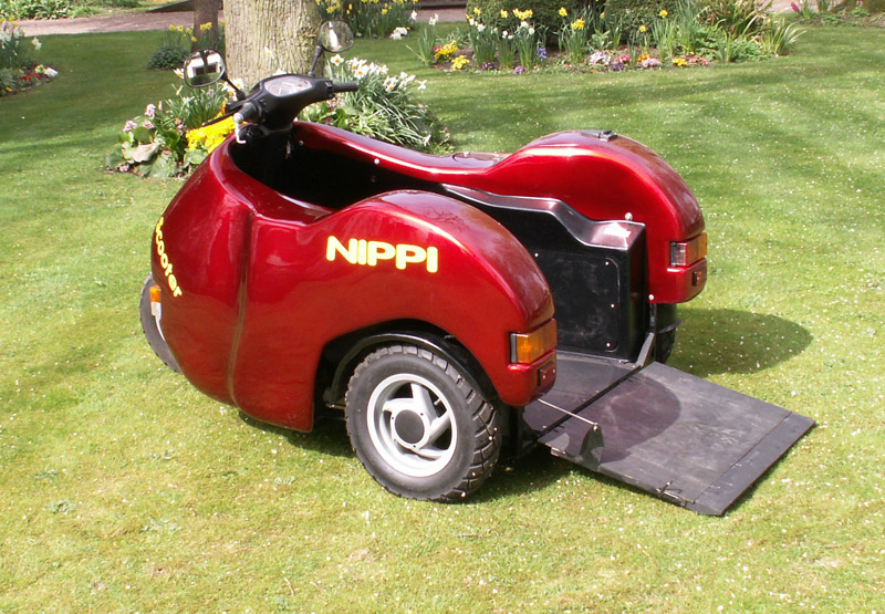 Candy Apple Red Nippi 50cc