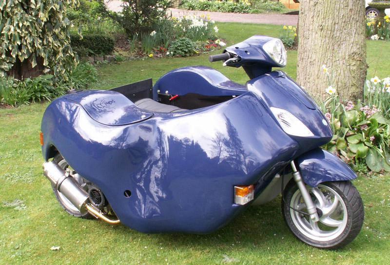 Blue Nippi 80cc - Piaggio Fly