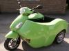 Lime Green Nippi 125cc - Piaggio Fly
